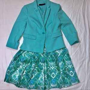 The Limited Skirt and Blazer Suit Set Medium